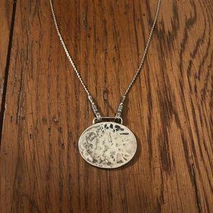 Silpada Jewelry - Hammered Silpada Necklace